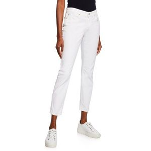 NWT Eileen Fisher Organic Cotton Slim Ankle Jeans